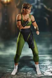 Sonya Blade - Fighting Stance