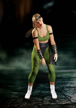 Sonya Blade - Dizzy animation