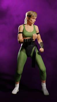 Sonya Blade - MK1 Fighting Stance