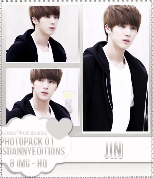 Jin (BTS) - PHOTOPACK#01 by JeffvinyTwilight
