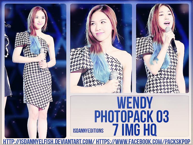 Wendy (RED VELVET) - PHOTOPACK#03 by JeffvinyTwilight