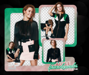 PACK PNG 398 // ADELE EXARCHOPOULOS by ELISION-PNGS