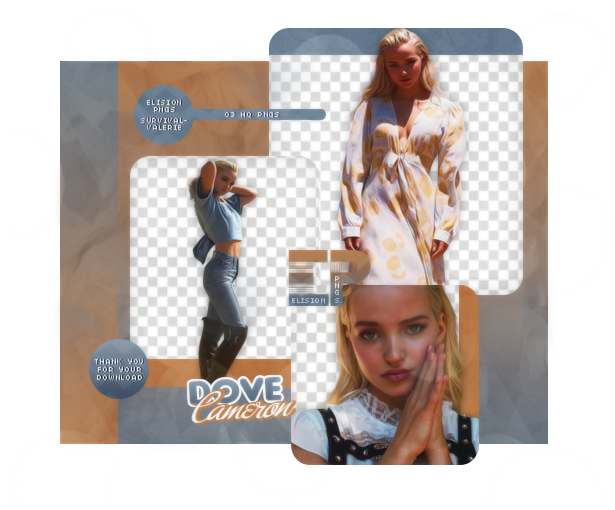 PACK PNG 444 // DOVE CAMERON by ELISION-PNGS