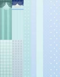 Random blue backgrounds