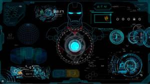 Iron Man JARVIS RainMeter Skin