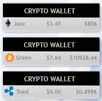CryptoWalletMonitor by toyotarocks9