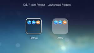 iOS 7 Icon Project - Launchpad Folders