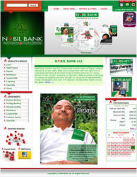Website for a Bank.