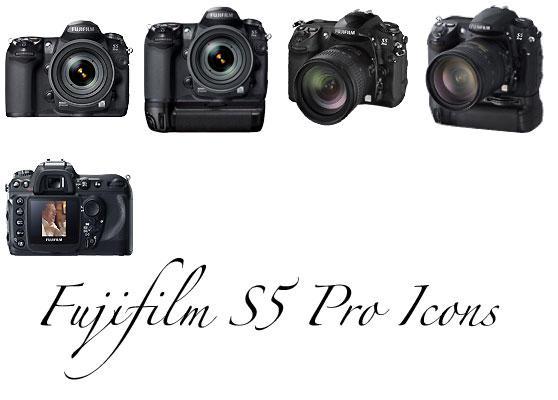 Fuji S5 Pro Icons by noelholland