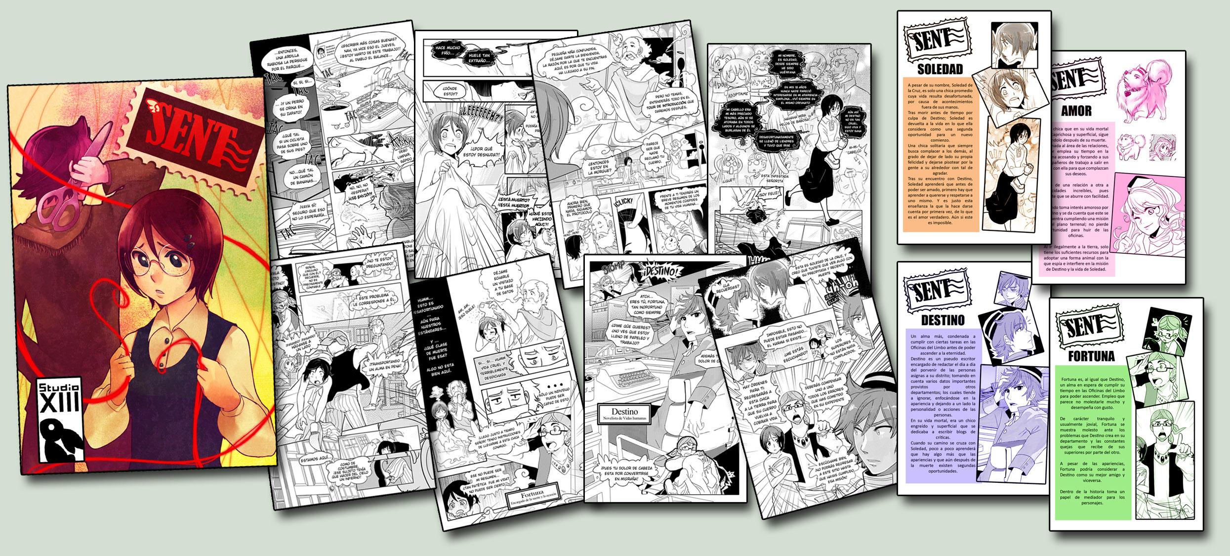 SENT -propuesta de manga NORMA by akimaro
