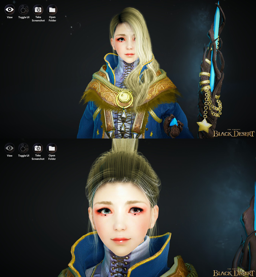 black desert online witch character template by favreauworks on