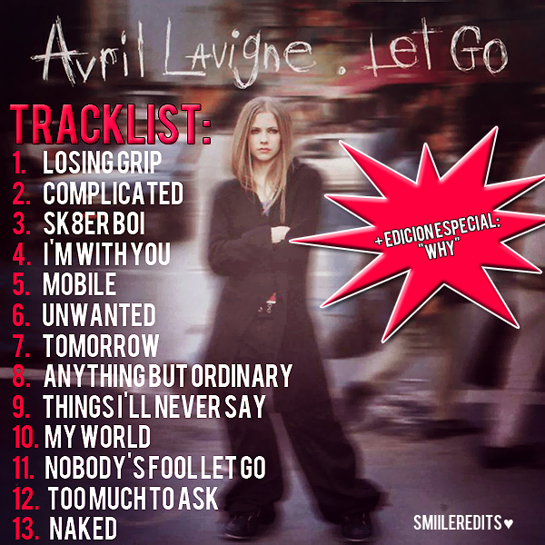 Complicated Avril Lavigne from Let Go album high quality