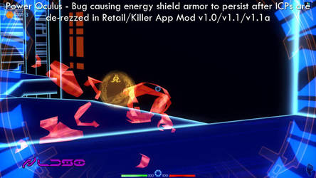 Power Oculus - ICP energy armor no longer persists