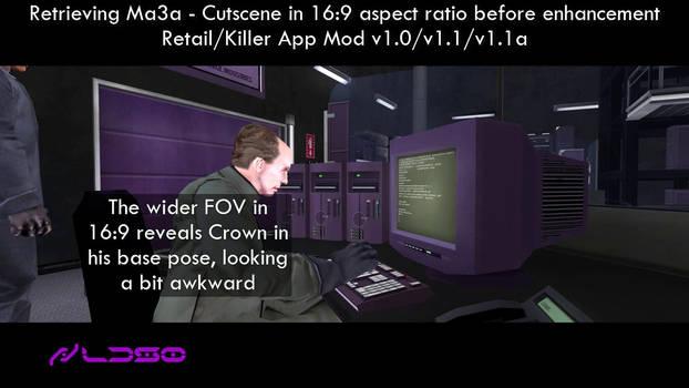 Retrieving Ma3a - Cutscene 16:9 enhancement