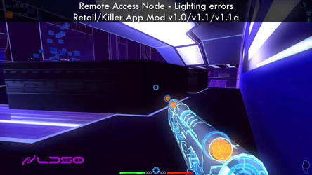 Remote Access Node - Lighting errors fixed