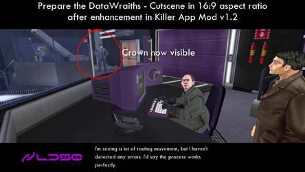 Prepare the DataWraiths - Cutscene enhancement