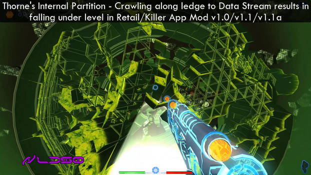 Thorne's Internal Partition - Falling under level