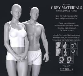 Genesis Grey Materials - G2 Bundle