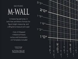 MWall for Daz Studio by SpyroRue