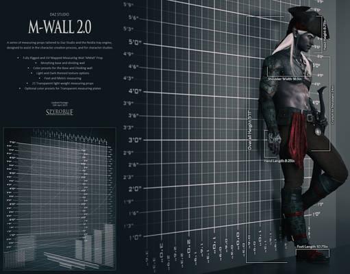 MWall 2.0 for Daz Studio