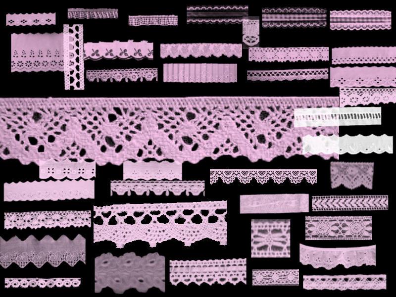 Nezumi Lace Brushes by Mahoutsukai-Monika