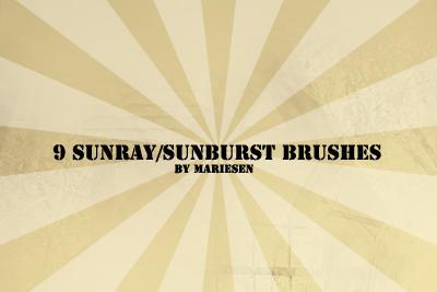 Brushes: Sunray by Mariesen