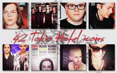 Icons: Tokio Hotel set12 by Mariesen