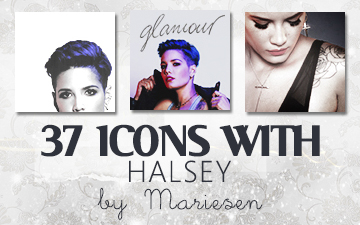 Icons: Halsey set1