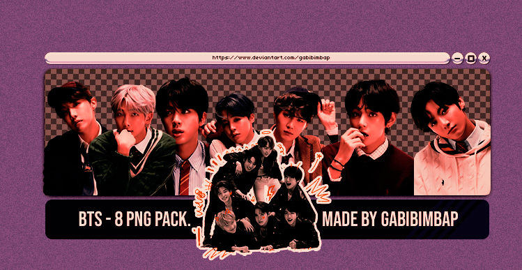 #11 PNG PACK - BTS