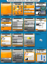 milanioom_sony ericsson theme