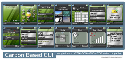 Carbon Based GUI