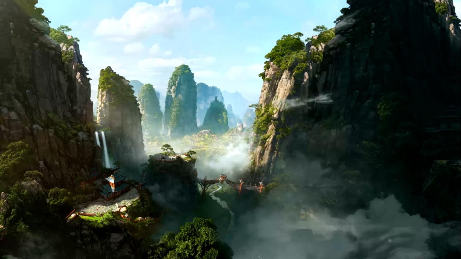 World Of Warcraft Mop Animated Wallpaper By Rebeccatt On Deviantart
