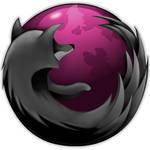 Pink and Black Firefox Windows
