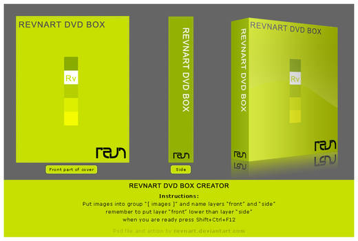 DVD box creator