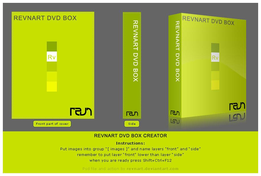 DVD box creator by revn89