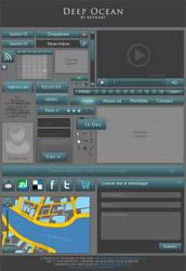 WebBase project - Deep Ocean UI kit