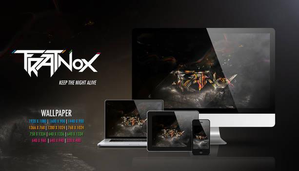 Frat Nox - keep the night alive, Wallpaper