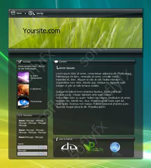 Vista Themed Template