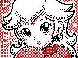 Peach animated by keke74100