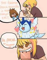 Pokemon Bank Transfer by bunnydeux
