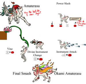 Super Smash Bros 4 - Amaterasu