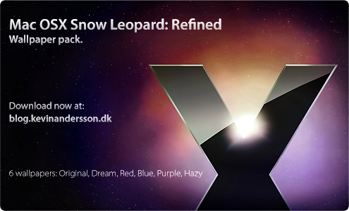 Mac OS X Snow Leopard: Refined Download : Mac OS X Wallpaper Pack