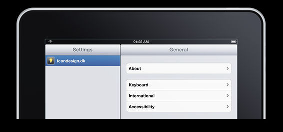 Apple iPad: Fully editable PSD