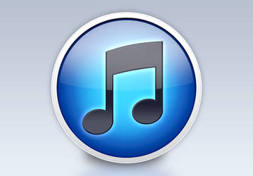 iTunes Ten icon: PSD file by kevinandersson