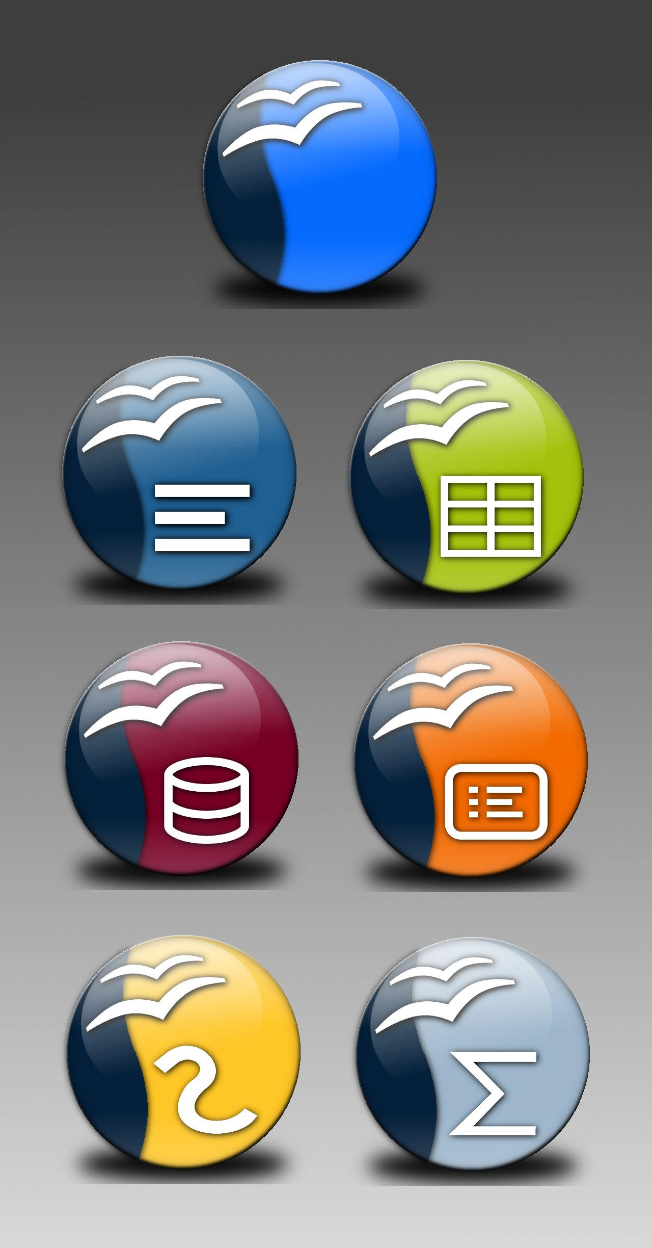 OpenOffice Icons by H3lio5