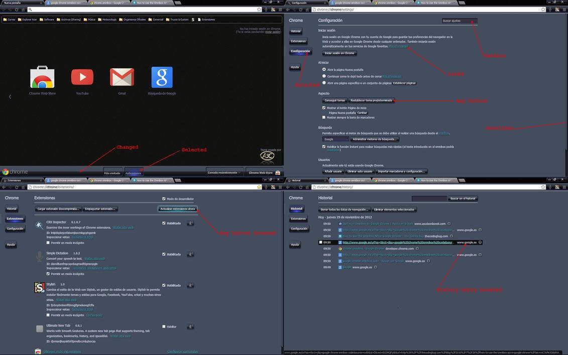 Google chrome themes youtube downloader - Google Chrome My Custom Css By A3canton
