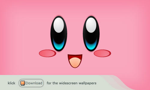 Wallpaper - Kirby by Icetrix