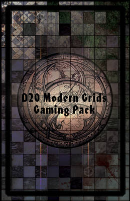 D20 Modern Grids Gaming Pack