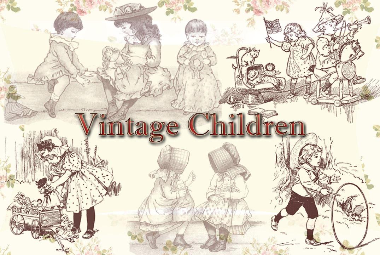 Vintage Children by auRoraBor