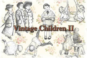 Vintage Children II by auRoraBor
